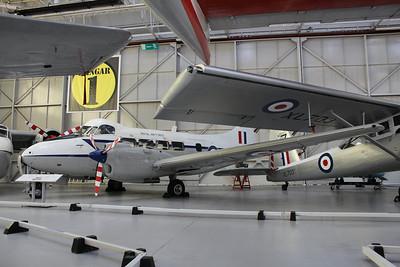 VP952 De Havilland Devon C2 @ RAF Museum Cosford 24.09.13