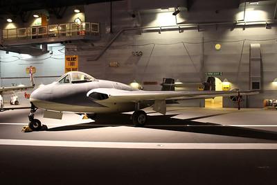 LZ551 De Havilland Sea Vampire @ Fleet Air Arm Museum 30.05.14