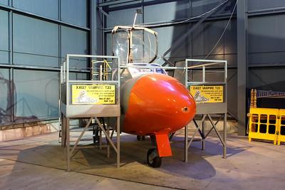 XA127 De Havilland Sea Vampire T22 @ Fleet Air Arm Museum 30.05.14