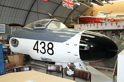 XG737 De Havilland Sea Venom FAW22 @ East Midlands Airport 31.07.14