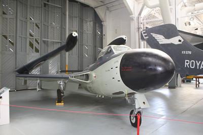 XG613 De Havilland Sea Venom FAW21 @ Duxford 08.09.12