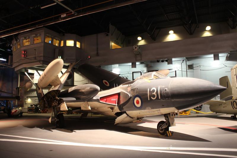 XS590 / 131 / E De Havilland Sea Vixen FAW2 @ Fleet Air Arm Museum 30.05.14
