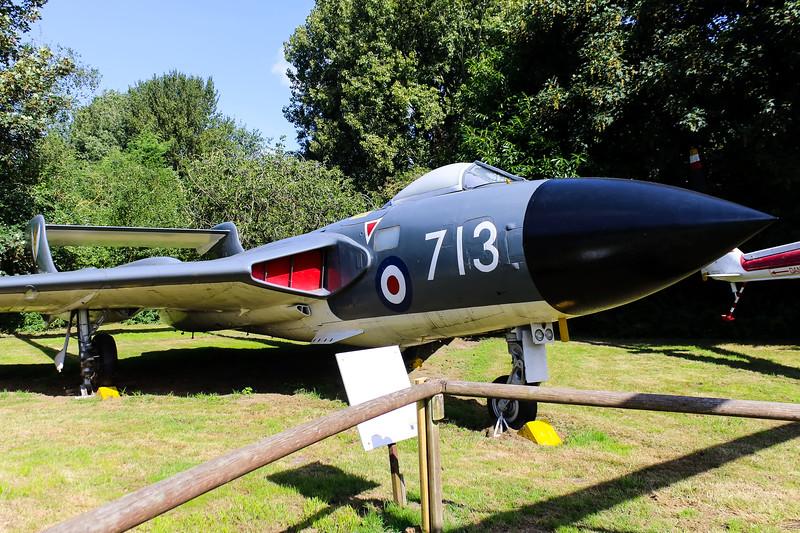 XJ482 De Havilland Sea Vixen FAW1 @ Norfolk & Suffolk Aviation Museum 11.09.16