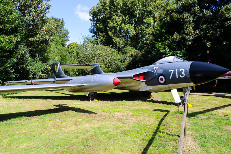 XJ482 De Havilland Sea Vixen FAW1 @ Norfolk & Suffolk Aviation Museum 11.09.16
