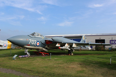XN685 / 703 De Havilland Sea Vixen FAW2 @ Midland Air Museum 24.09.13