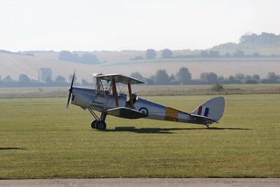 DE974 De Havilland DH.82A Tiger Moth G-ANZZ @ Duxford 08.09.12