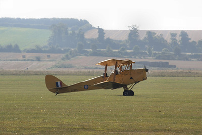 DF112 De Havilland DH.82A Tiger Moth G-ANRM @ Duxford 08.09.12