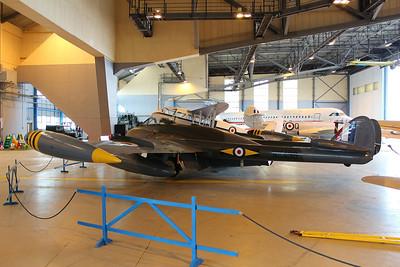 WK436 / G-VENM De Havilland DH112 Venom FB50 @ Classic Air Force Newquay 27.06.13