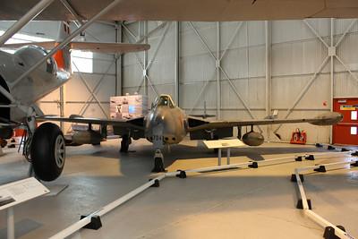 J-1704 De Havilland DH112 Venom FB54 of the Swiss Air Force @ RAF Museum Cosford 24.09.13