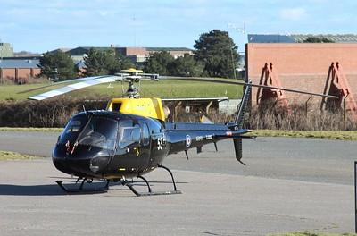 ZJ253 / 53 Eurocopter AS350 Squirrel HT2 @ RAF St Mawgan 15.02.16