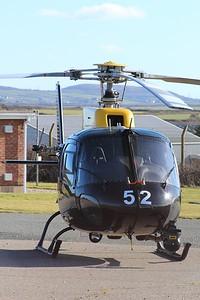 ZJ252 / 52 Eurocopter AS350 Squirrel HT2 @ RAF St Mawgan 15.02.16