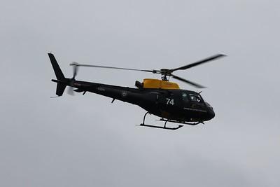 ZJ274 / 74 Aerospatiale / Eurocopter AS350BB Squirrel HT1 @ RAF Cosford 19.06.16