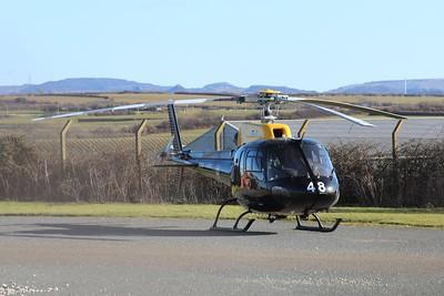 ZJ248 / 48 Eurocopter AS350 Squirrel HT2 @ RAF St Mawgan 15.02.16