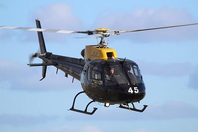 ZJ245 / 45 Eurocopter AS350 Squirrel HT2 @ RAF St Mawgan 15.02.16