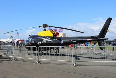 ZJ267 / 67 Aerospatiale / Eurocopter AS350BB Squirrel HT1 @ RNAS Yeovilton 02.07.16