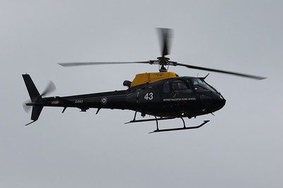 ZJ243 / 43 Eurocopter AS350 Squirrel HT2 @ RAF Cosford 19.06.16