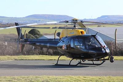 ZJ254 / 54 Eurocopter AS350 Squirrel HT2 @ RAF St Mawgan 15.02.16