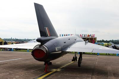 WG777 Fairey FD2 @ RAF Cosford 19.06.16