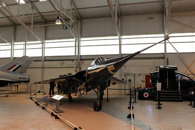 WG777 Fairey FD2 @ RAF Museum Cosford 24.09.13