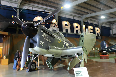 Z2033 Fairey Firefly TT1 @ Fleet Air Arm Museum 30.05.14