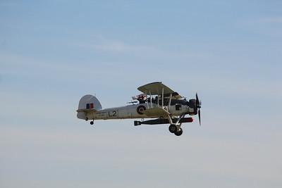LS326 Fairey Swordfish MKII @ Duxford 08.09.12