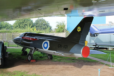 GN-101 Folland Gnat F1 of the Finnish Air Force @ Midland Air Museum 24.09.13