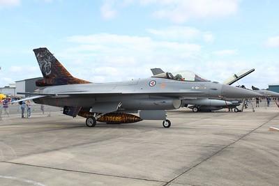 664 General Dynamics F-16AM of the Royal Norwegian Air Force @ RNAS Yeovilton 11.07.15