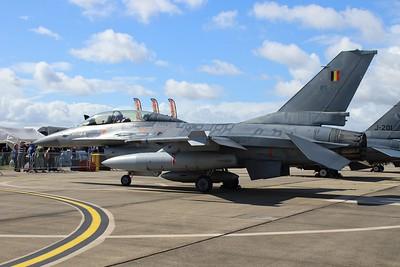 FB-21 General Dynamics F-16B MLU - Belgian Air Component @ RNAS Yeovilton 02.07.16
