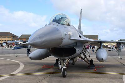 J-201 General Dynamics F-16AM Royal Netherlands Air Force / Koninklijke Luchtmacht @ RNAS Yeovilton 02.07.16