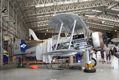 N5903 Gloster Gladiator Mk II G-GLAD @ Duxford 08.09.12