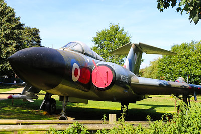 XH892 Gloster Javelin FAW9R @ Norfolk & Suffolk Aviation Museum 11.09.16