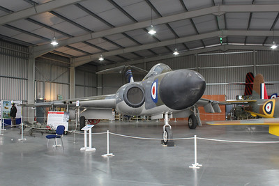 XH903 Gloster Javelin FAW9 @ Jet Age Museum 27.04.14