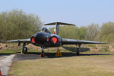 XH767 Gloster Javelin FAW9 @ Yorkshire Air Museum 21.04.14