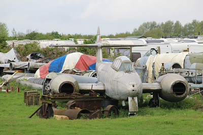 WL349 Gloster Meteor T7 @ Jet Age Museum 27.04.14