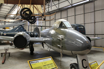 WK864 / C Gloster Meteor F8 @ Yorkshire Air Museum 21.04.14