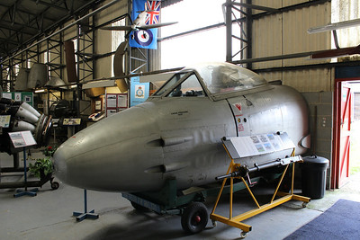 WL131 Gloster Meteor F8 @ South Yorkshire Aircraft Museum 19.04.14