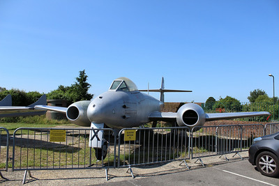 WA829 Gloster Meteor F8 @ Tangmere Military Aviation Museum 09.07.13