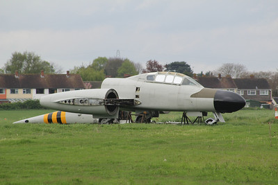 WM366 Gloster Meteor NF13 @ Jet Age Museum 27.04.14