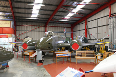 EE531 Gloster Meteor F4 @ Midland Air Museum 24.09.13