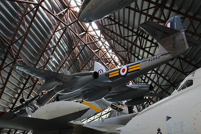 WS843 / J Gloster Meteor NF14 @ RAF Museum Cosford 24.09.13