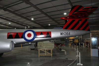 WH364 Gloster Meteor F8 @ Jet Age Museum 27.04.14