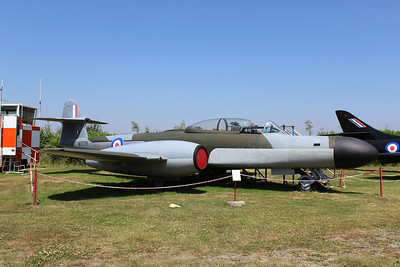 WS776 Gloster Meteor NF14 @ Bournemouth Aviation Museum 08.07.13