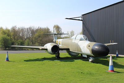 WS788 / Z Gloster Meteor NF14 @ Yorkshire Air Museum 21.04.14