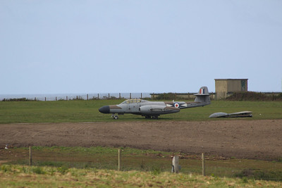 WD686 Gloster Meteor NF11 @ Muckleburgh Collection 25.05.13