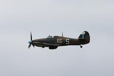 PZ865 / EG-S Hawker Hurricane IIC @ RAF Cosford 19.06.16