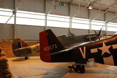 LF738 UH-A Hawker Hurricane MkIIC @ RAF Museum Cosford 24.09.13