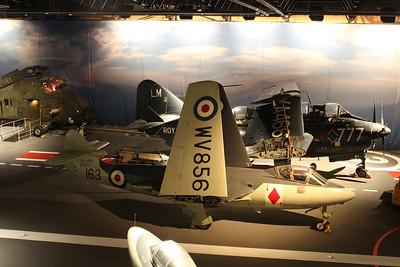 WV856 Hawker Sea Hawk FGA6 @ Fleet Air Arm Museum 30.05.14