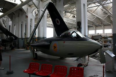 WH969 Hawker Sea Hawk FB5 @ Duxford 08.09.12