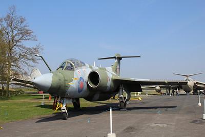 XV168 Blackburn / Hawker Siddeley Buccaneer S2B @ Yorkshire Air Museum 21.04.14