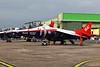 XW175 Hawker Siddeley Harrier T4 @ RAF Cosford 19.06.16